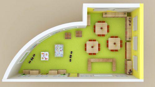 Plan aménagement PS1